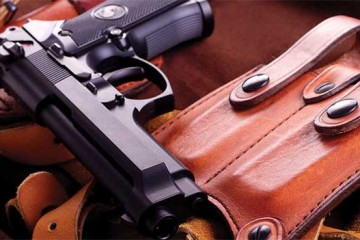 Handgun-and-Leather