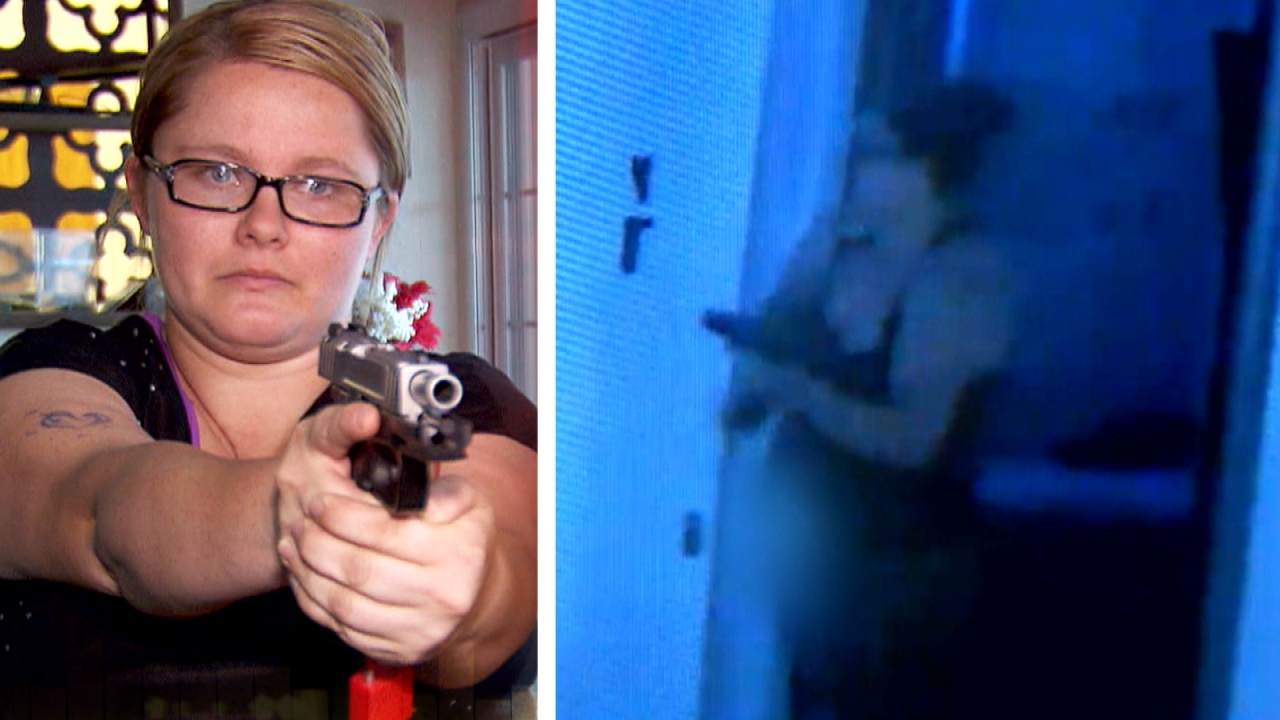 California: Despite Strict Gun Control, Mom Buys Gun & Protects Kids from Home Invader