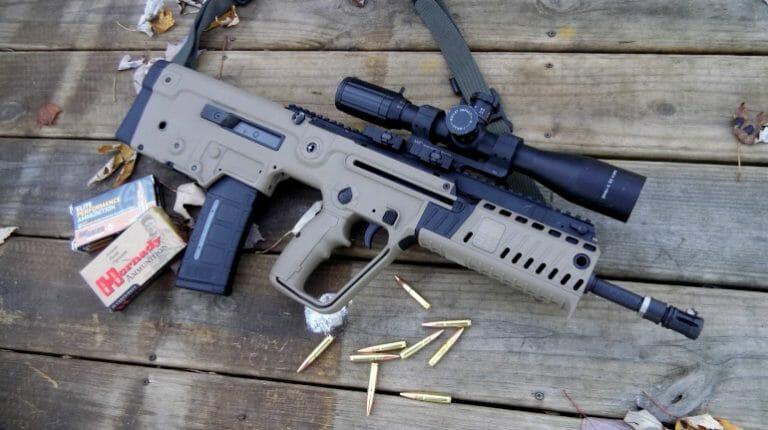 IWI Tavor X95 in 300 Blackout ndash Gun Review Guns in the News