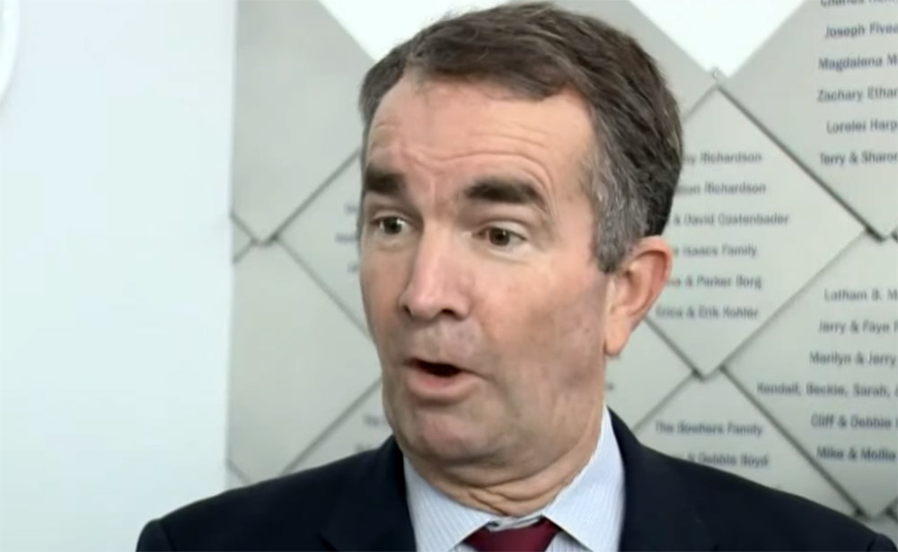 "Image result for governor northam ""youtube"""